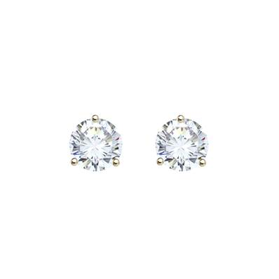 BO OR JAUNE 750/00 DIAMANT 0,60CT