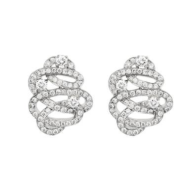 BO OR GRIS 750/00 126 DIAMANTS BLANCS 0,63CT