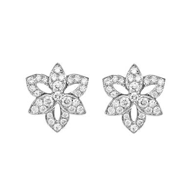 BO OR GRIS 750/00 56 DIAMANTS BLANCS 0,69CT