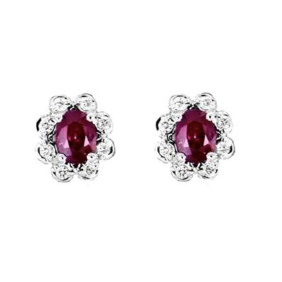 BO OR GRIS 750/00 RUBIS 0,59 CT