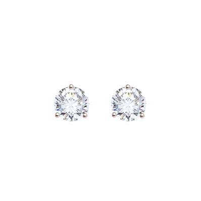BO OR ROSE 750/00 DIAMANT 0,50CT