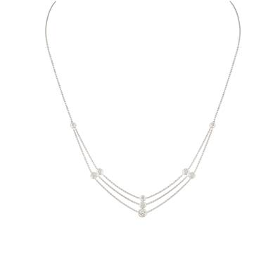 COLLIER OR GRIS 750/00